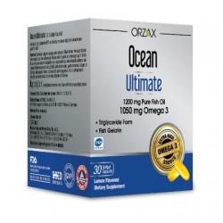 Orzax Ocean Ultimate 30 Kapsül Balık Yağı