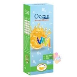 Orzax Ocean VM Vitamin + Mineral Portakal Aromalı Şurup 150 ml