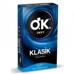 Okey Prezervatif Klasik 10'lu