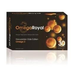 Omega Royal Hayvar Balık Yağı 30 kapsül