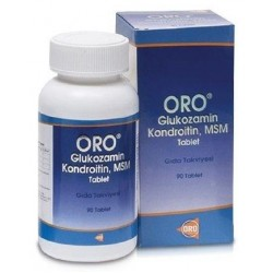 ORO Glukozamin Kondroitin Msm 90 Tablet