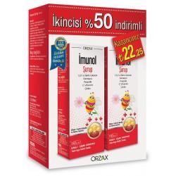 Orzax Imunol Şurup 150 ml 2'li Paket