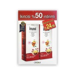 Orzax İmunol Şurup 150 ml 2'li Paket