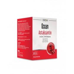 Orzax Ocean Astaksantin 30 Kapsül