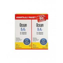Orzax Ocean D3 K2 20 ml I İkincisi %50 İndirimli