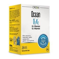 Orzax Ocean D3K2 Damla 20 ml