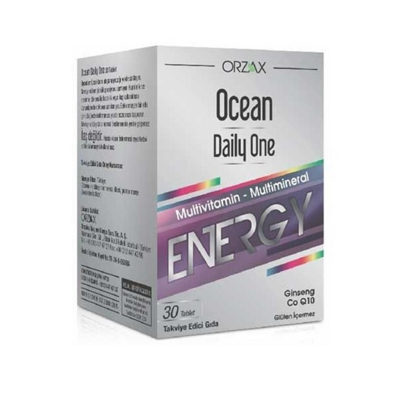 Orzax Ocean Daily One Energy 30 Tablet