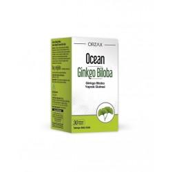 Orzax Ocean Ginkgo Biloba  30  Kapsül