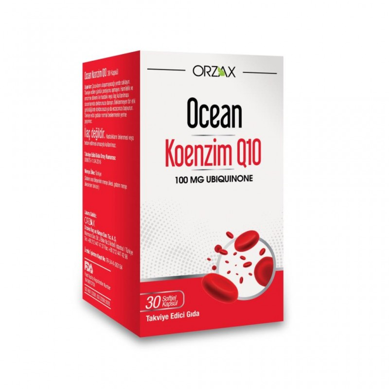 Orzax Ocean Koenzim Q10 30 Kapsül