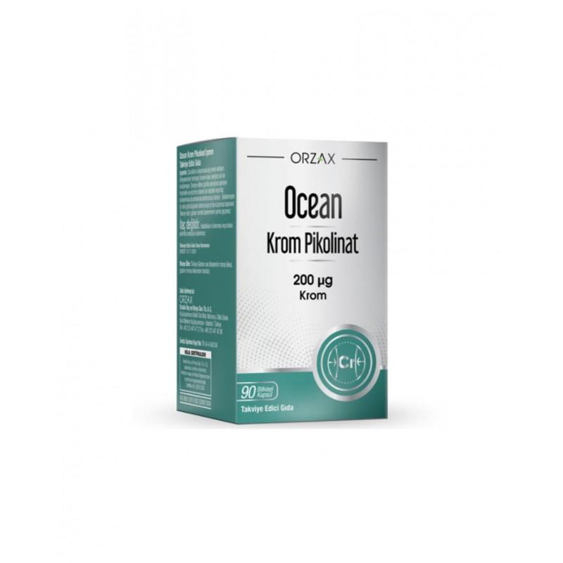 Orzax Ocean Krom Pikolinat 90 Kapsül