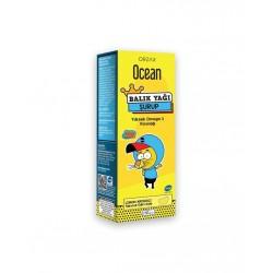 Orzax Ocean Limon Aromalı Balık Yağı Şurubu Kral Şakir 150 ml