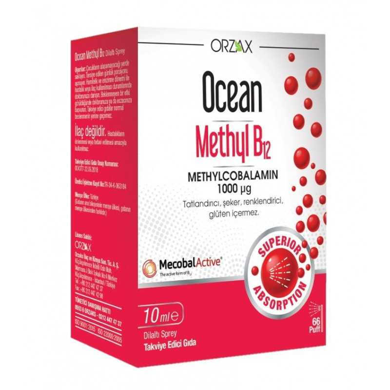 Orzax Ocean Methyl B12 10 ml