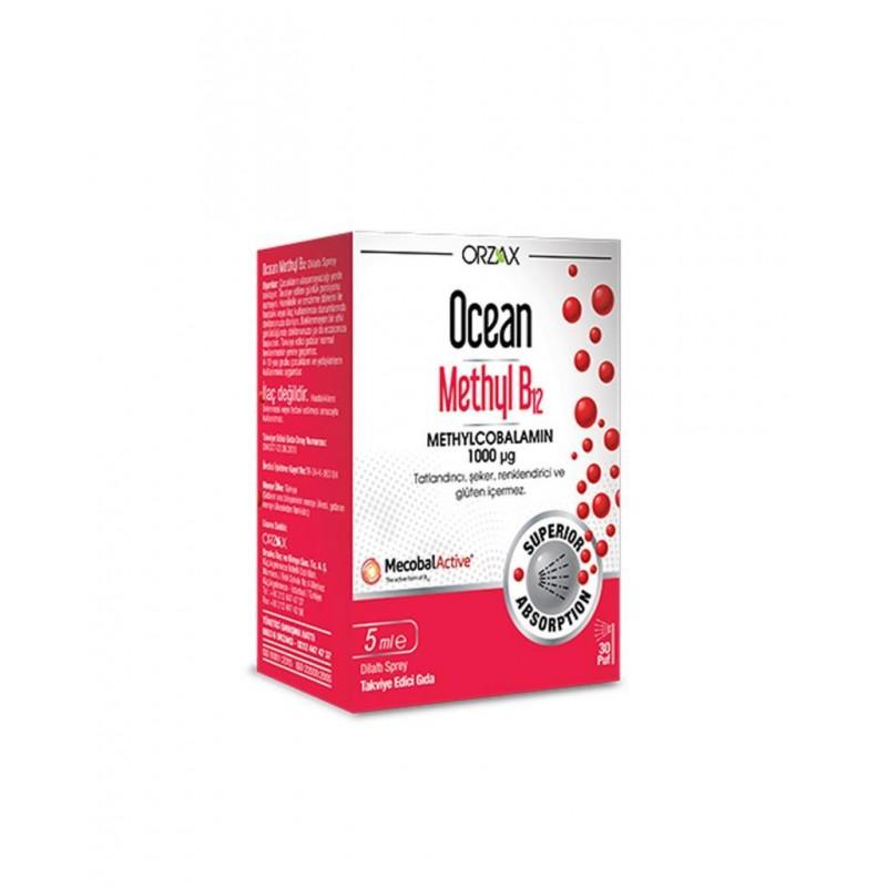 Orzax Ocean Methyl B12 1000 μg 5 ml