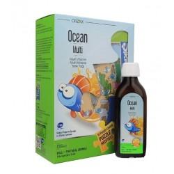 Orzax Ocean Multi Şurup 150 ml - Lisanslı Puzzle Hediyeli