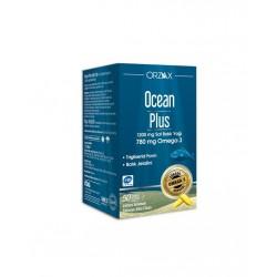 Orzax Ocean Plus 1200 Saf Balık Yağı 30 Kapsül