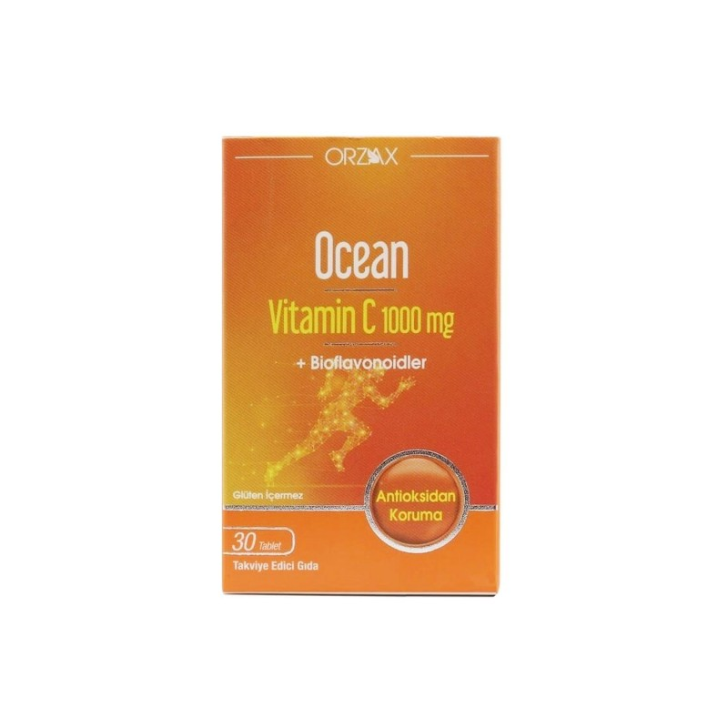 Orzax Ocean Vitamin C 1000 mg 30 Tablet