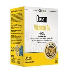 Orzax Ocean Vitamin D3 400 IU Sprey 20 ml