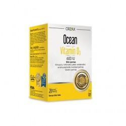 Orzax Ocean Vitamin D3 600 IU Sprey 20 ml