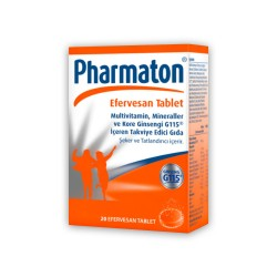 Pharmaton Efervesan 20 Tablet (SKT:5/2021)