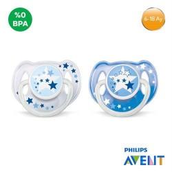 Philips Avent SCF176/62 Gece 6-18 ay Emzik Mavi