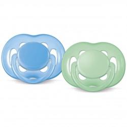 Philips Avent SCF178/64 6-18 Ay Freeflow Emzik Mavi -Yeşil