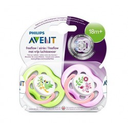 Philips Avent SCF186/25 Freeflow 2'li Emzik 18+ Ay Kız