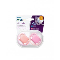 Philips Avent SCF245/22 Ultra Air 2'li Emzik 6-18 ay Pembe