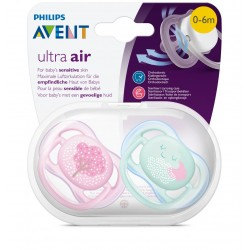 Philips Avent SCF343/20 Ultra Air 2'li Emzik 0-6 ay Kız