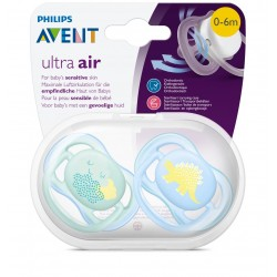 Philips Avent SCF344/20 Ultra Air 2'li Emzik 0-6 ay Erkek
