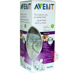 Philips Avent SCF673/17 Natural Cam Biberon 240 ml (1m+)