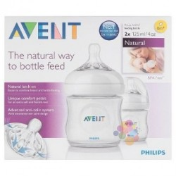 Philips Avent SCF690/27 Natural 2'li Biberon 125 ml (0m+)
