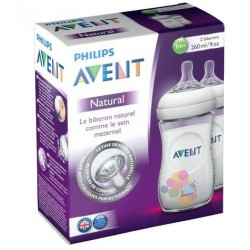 Philips Avent SCF693/27 Natural 2'li Biberon 260 ml (1m+)