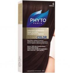 PhytoColor 4 - Kestane (Bitkisel Saç Boyası)