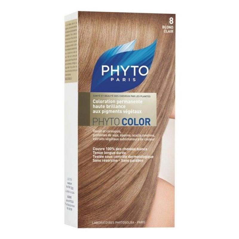 PhytoColor 8 - Açık Sarı (Bitkisel Saç Boyası)