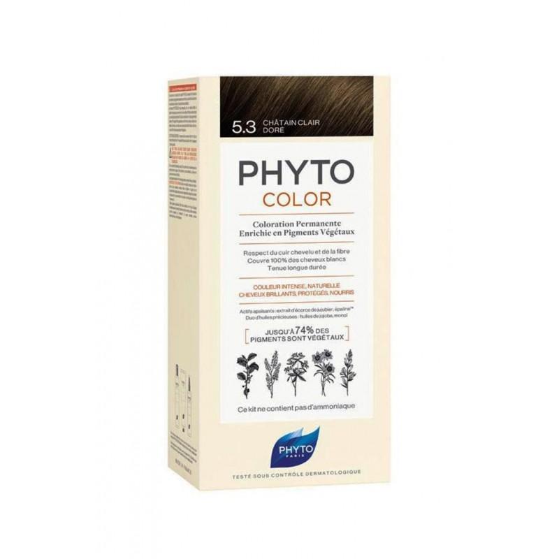 Phyto PhytoColor 5.3 - Açık Kestane Dore (Bitkisel Saç Boyası)