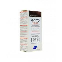 Phyto PhytoColor 5.35 - Açık Kestane Dore Akaju (Bitkisel Saç Boyası)