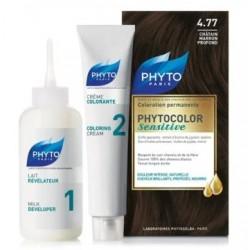 PhytoColor Sensitive 4.77 - Çikolata Kahve (Bitkisel Saç Boyası)