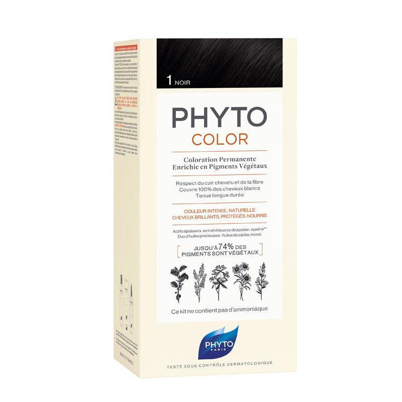 Phyto PhytoColor 1- Siyah (Bitkisel Saç Boyası)