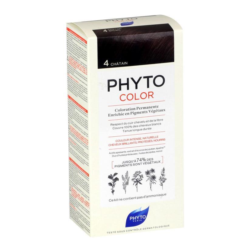 Phyto PhytoColor 4 - Kestane (Bitkisel Saç Boyası)