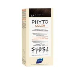 Phyto PhytoColor 5.7 - Açık Kestane Bakır (Bitkisel Saç Boyası)