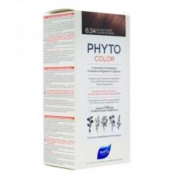 Phyto PhytoColor 6.34 - Koyu Kumral Dore Bakır (Bitkisel Saç Boyası)