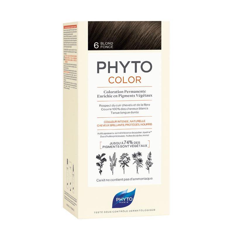 Phyto PhytoColor 6 - Koyu Kumral (Bitkisel Saç Boyası)