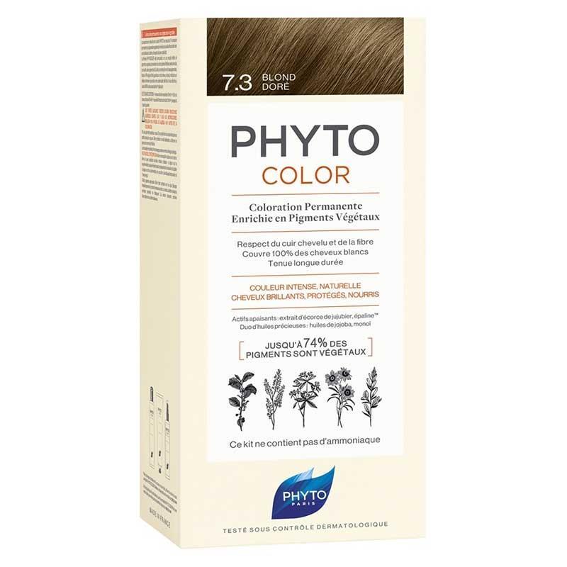 Phyto PhytoColor 7.3 - Kumral Dore (Bitkisel Saç Boyası)
