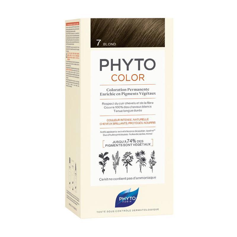 Phyto PhytoColor 7 - Kumral (Bitkisel Saç Boyası)