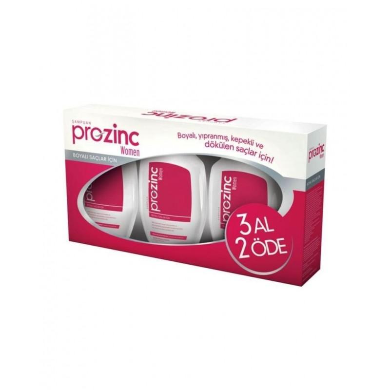 Prozinc Women Boyalı Saçlar İçin Şampuan 3 AL 2 ÖDE