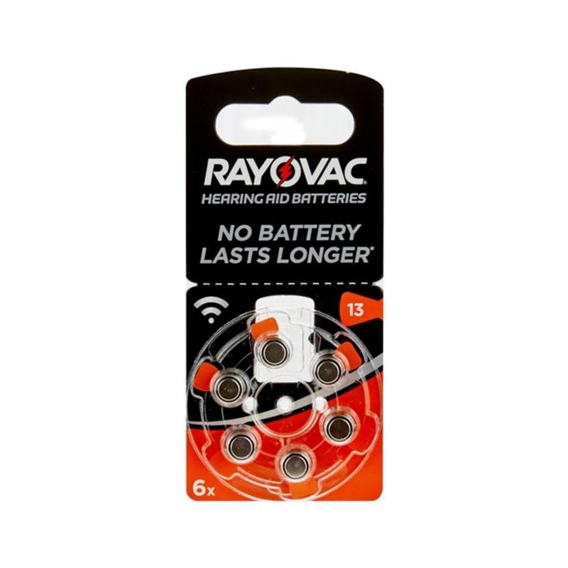 Rayovac 13 İşitme Cihaz Pili 6Lı