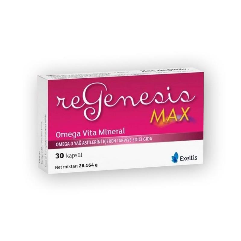 Regenesis Max Omega Vita Mineral 30 Kapsül