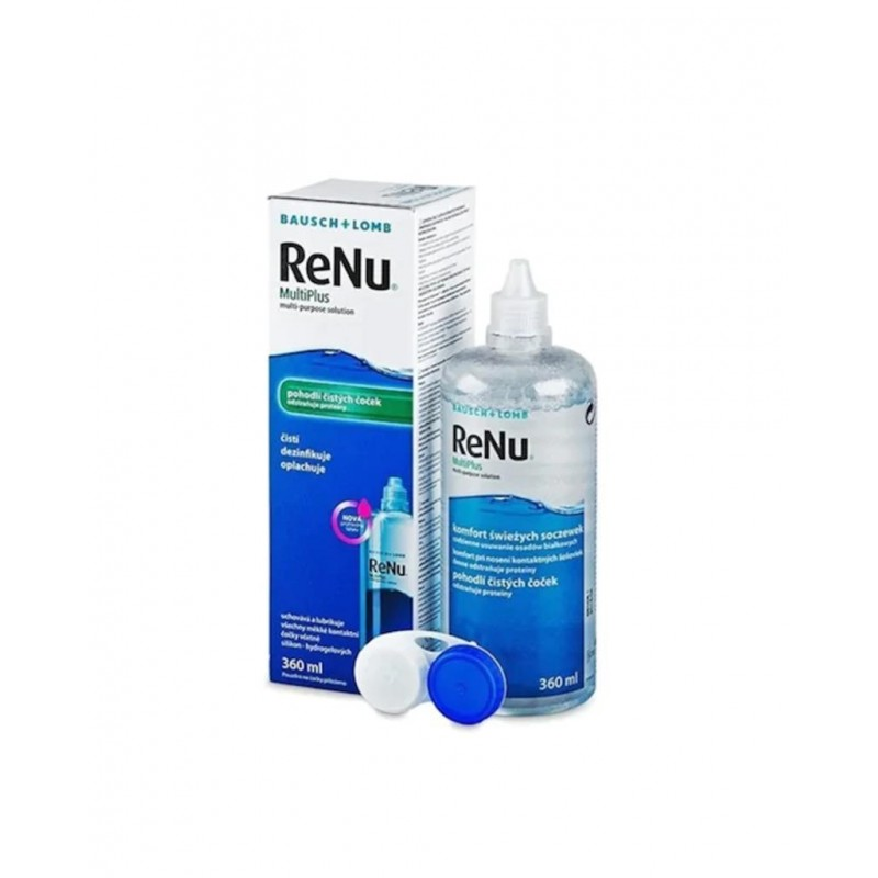 Renu Multi Plus Lens Solüsyonu 360 ml