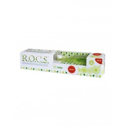 Rocs 0-3 Yaş Set Diş Fırçası ve Diş Macunu( Yeşil )