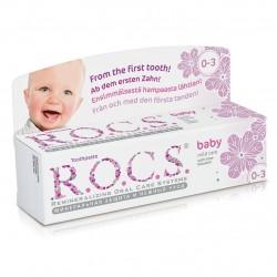 Rocs Baby Doğal Bakım Ihlamur Özlü Diş Macunu (0-3 Yaş) 35 ml